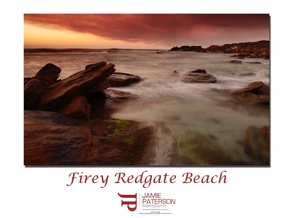 Redgate Beach Margaret River Australian Landscapes Seascapes Waves sunset