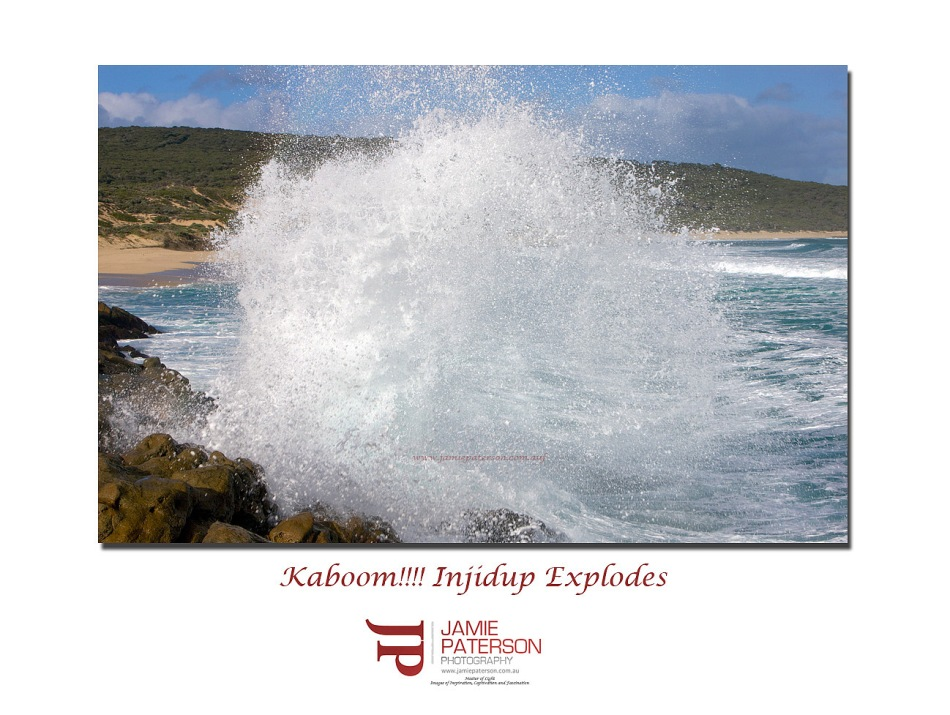 injidup waves surf australian landscapes seascapes