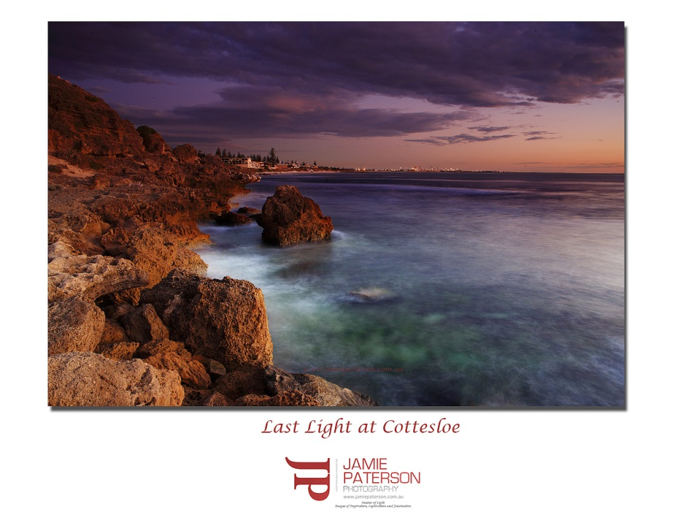 last light cottesloe beach seascape landscape photography