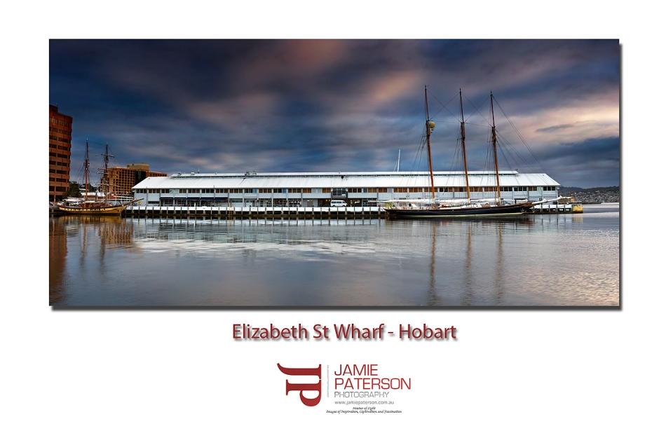 elizabeth wharf hobart tasmania australian landscape photography