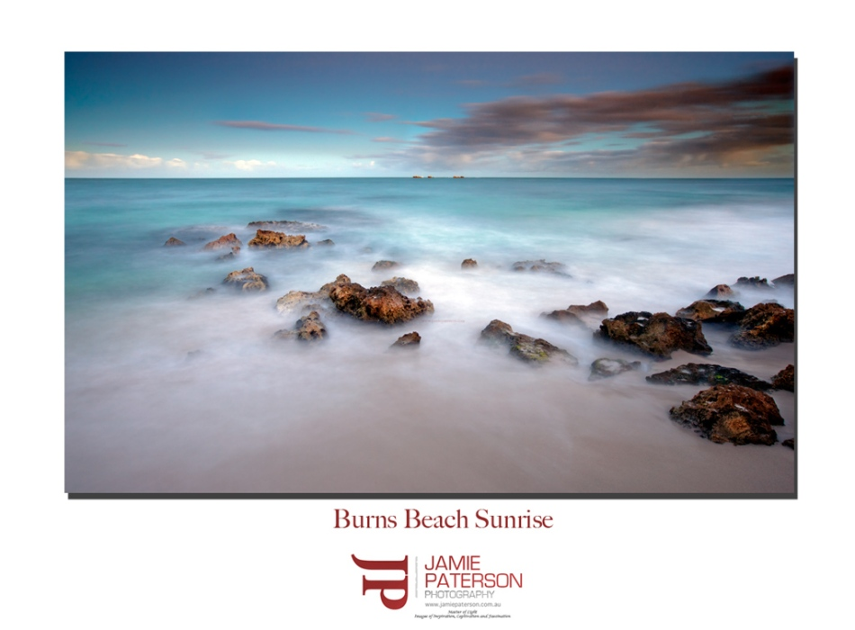 burns beach, landscape photographer, seascape photographer,
