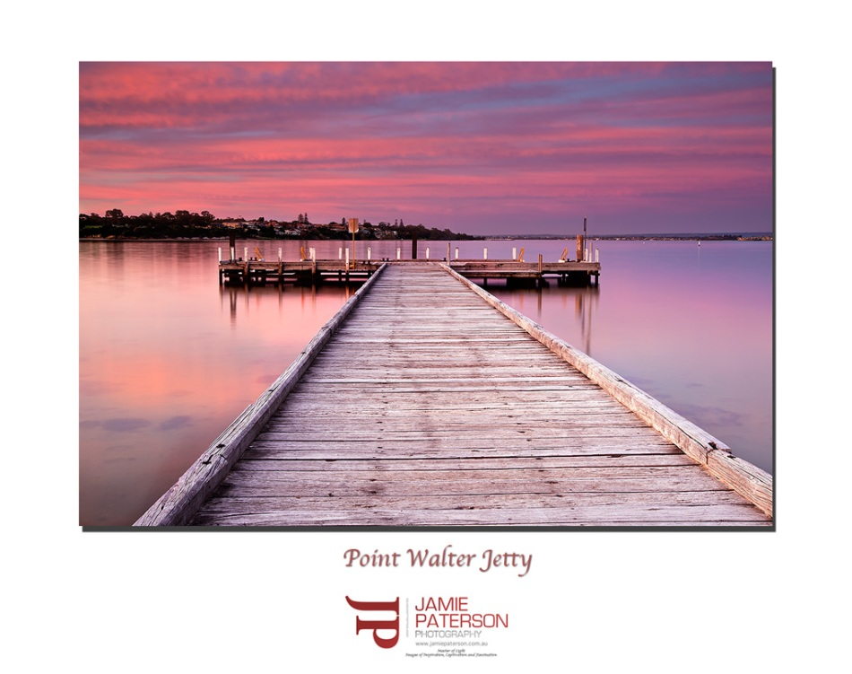 point walter jetty, sunset, australian landscape photography, australian seascape photography