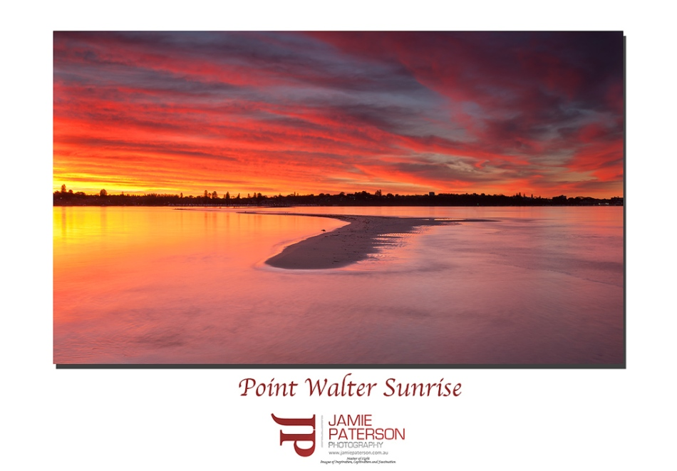 sunsets, australian landscape photography, australian seascape photography, point walter, bicton