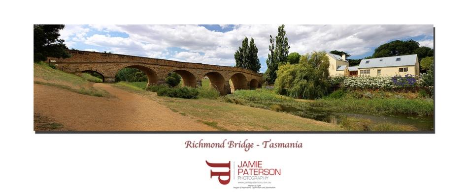 richmond bridge, tasmania, australian landscape photography, australian seascape photography
