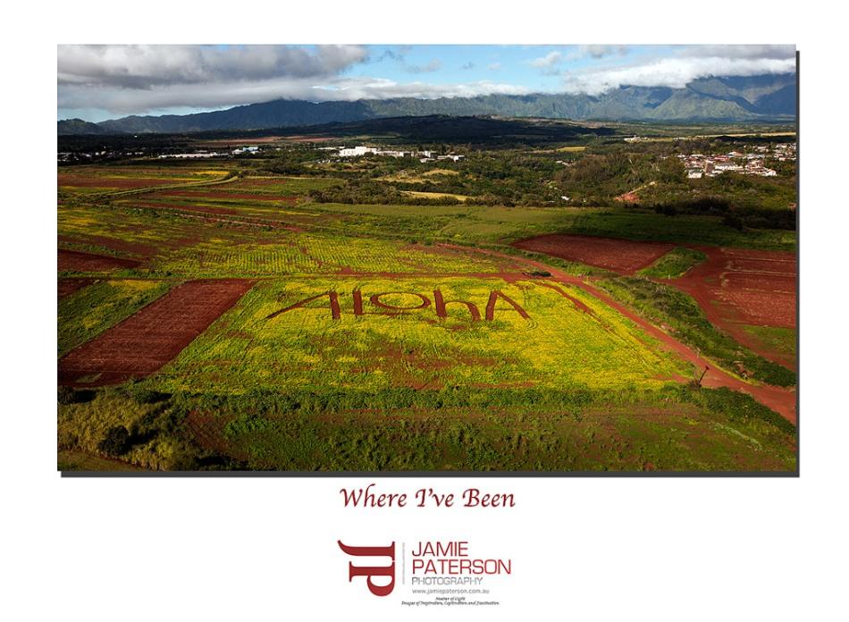 hawaii landscape, aerial photography, kauai landscape photography