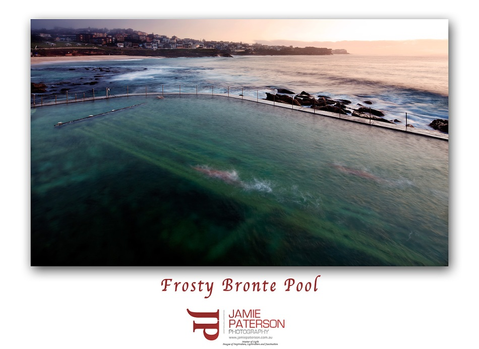 bronte, bronte pool, australian landscape photography, seascape photography