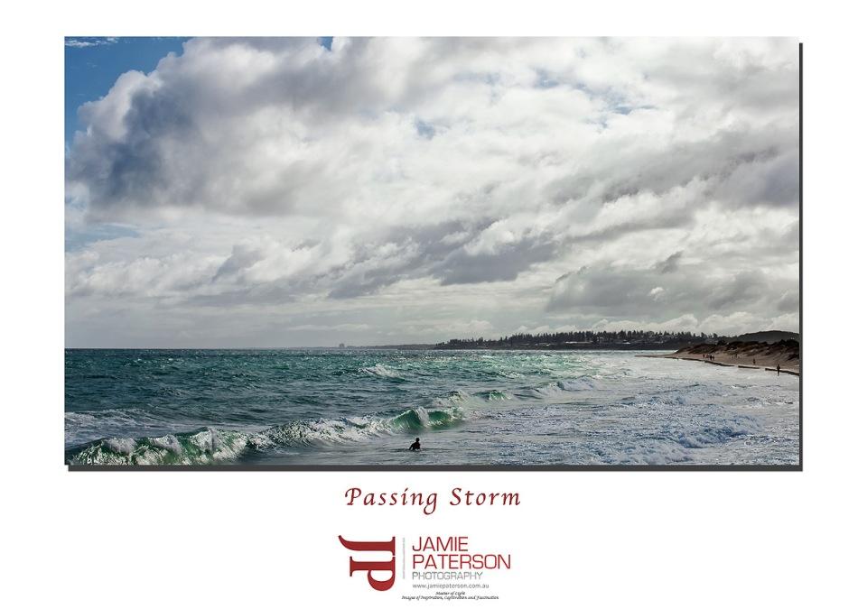 seascape photography, storm front, perth storm, australian landscape photography