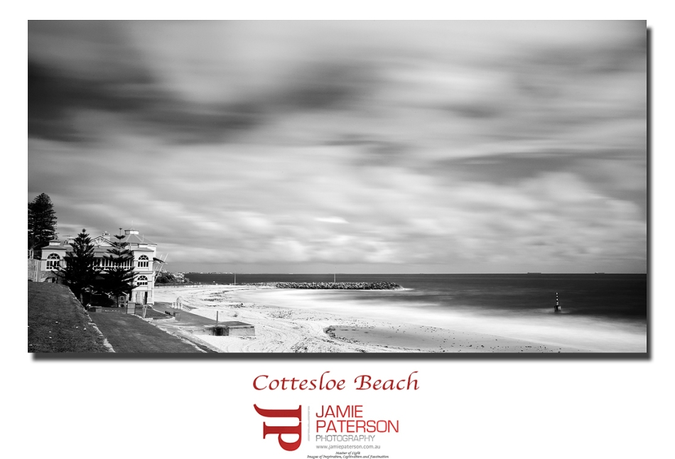 cott, cottesloe, north cottesloe, seascape photography, long exposure, landscape photography