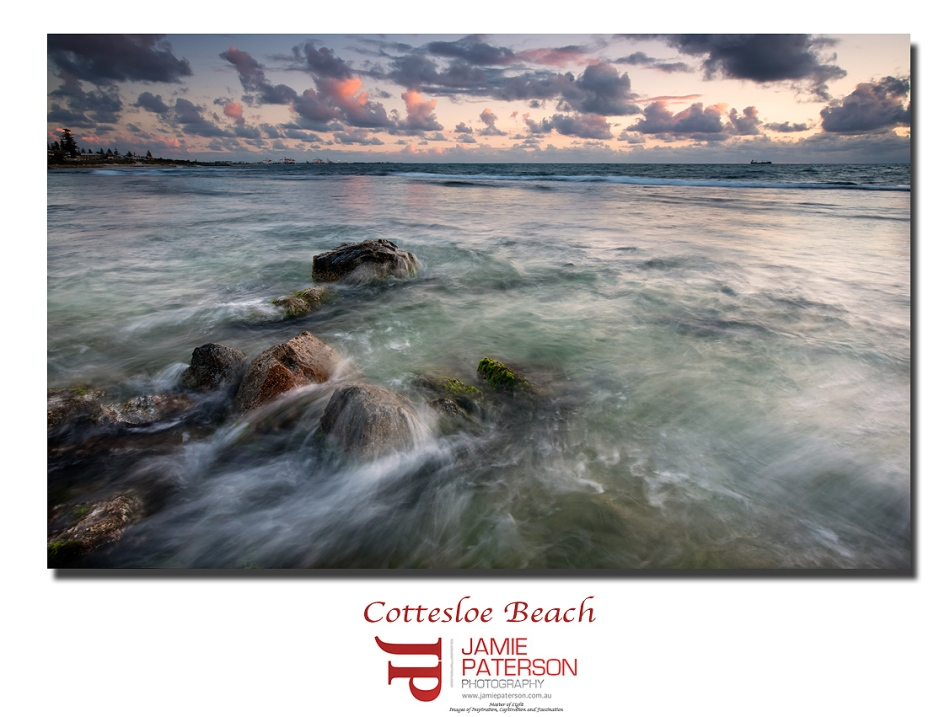 cottesloe, cott, sunset, australian landscape photography, seascape photography
